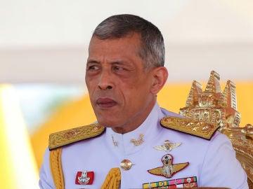El rey Vajiralongkorn