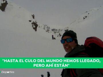 La gesta de tres españoles: escalan por primera vez unas cascadas de hielo en Siberia