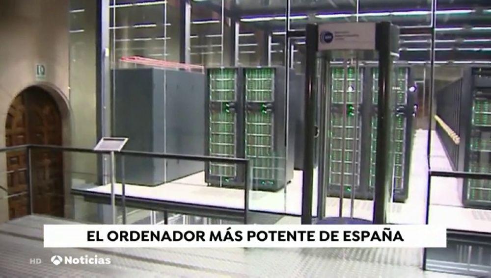 Así es 'Mare Nostrum', el súper ordenador más potente de España