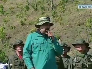 """REEMPLAZO   Nicolás Maduro se apoya en los militares y pide a la Fuerza Armada que esté """"más unida que nunca"""""""