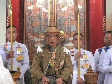 Coronación del rey de Tailandia