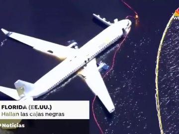 El avión siniestrado en Florida