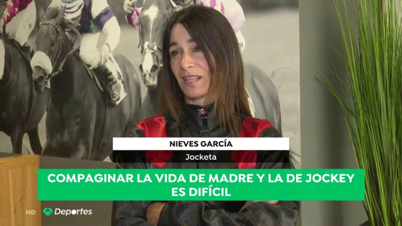 La Historia De Nieves García, Madre Y Deportista