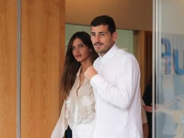 Iker Casillas y Sara Carbonero