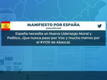 """Exdirigentes de Vox cargan contra el """"chiringuito"""" de Abascal y piden el voto para el PP"""