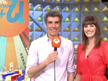 Las anécdotas de Laura Moure y Jorge Fernández en los 13 años de 'La ruleta de la suerte'