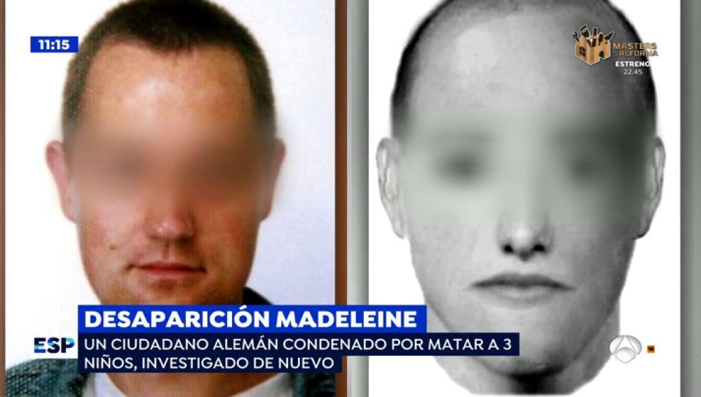 Nuevos sospechoso de la desaparición de Madeleine.