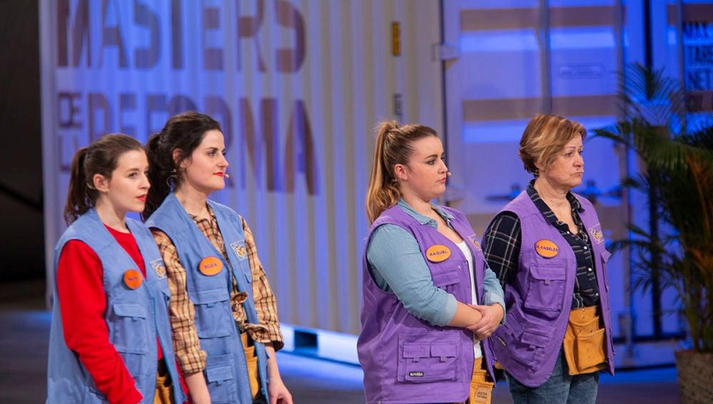Las Nastis y Raquel y Mª Ángeles, en la cuerda floja para abandonar 'Masters de la reforma'