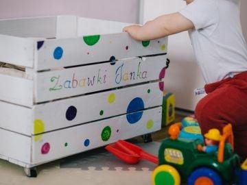 Baúl de juguetes