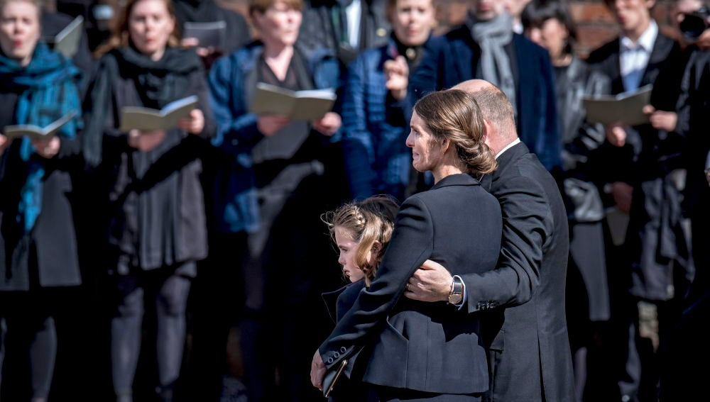 Funeral de la  familia Holch Povlsen