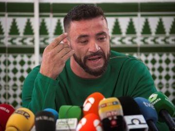 David Serrano, dueño de la finca de Totalán