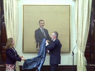 El Congreso coloca este lunes un retrato oficial del Rey que ha costado 88.000 euros