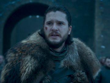 Kit Harington, Jon Snow en el 8x04 de 'Juego de Tronos'