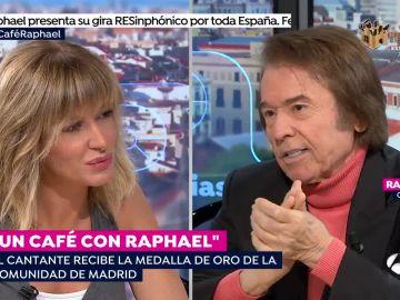 Un café con Raphael