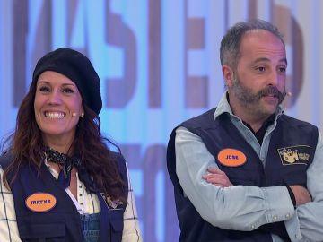 """El primer roce entre José e Iratxe: """"¿Ha dicho que entorpezco?"""""""