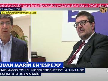 Juan Marín en 'Espejo Público'
