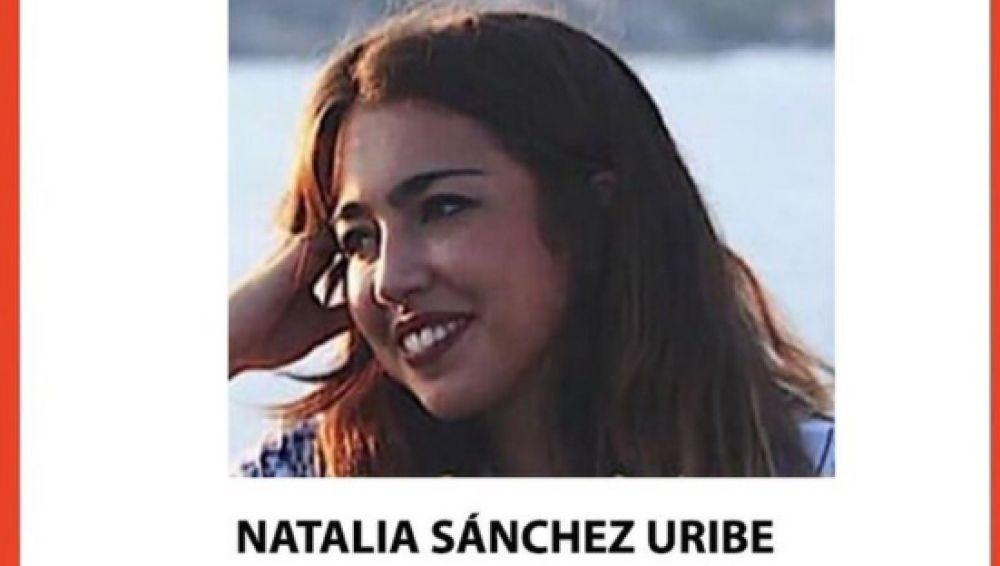 Imagen de Natalia, la joven desaparecida