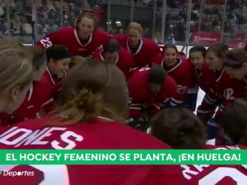 """El hockey hielo femenino dice basta: """"Estamos sin seguro médico y cobrando menos de 2.000 dólares por temporada"""""""