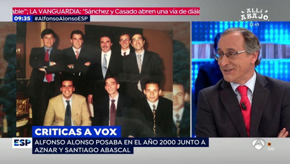 Entrevista con Alfonso Alonso