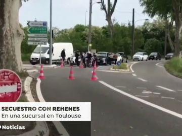 Cuatro rehenes liberados en Toulouse tras varias horas retenidos