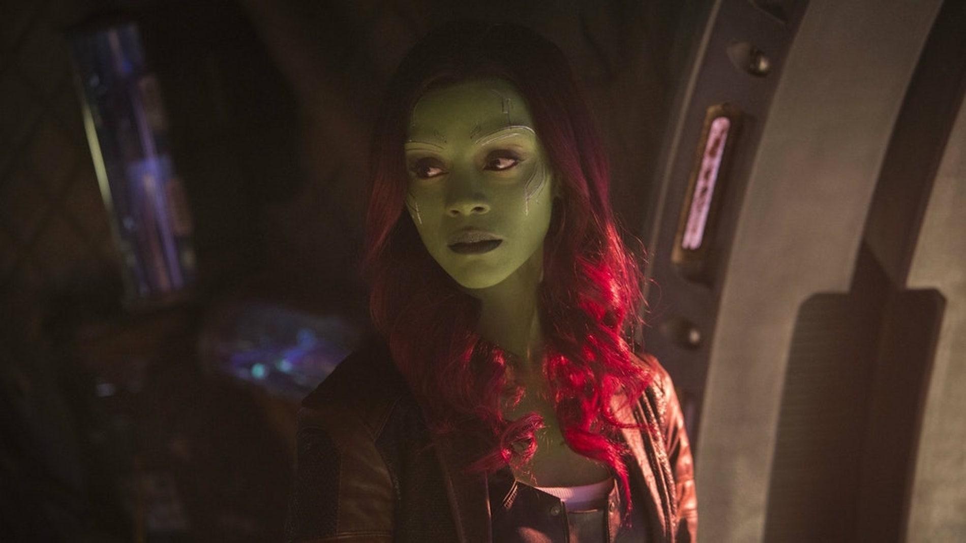 Zoe Saldana interpreta a Gamora en 'Vengadores: Endgame'