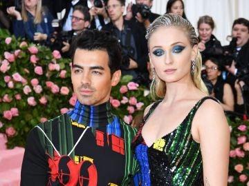 Joe Jonas y Sophie Turner en la Gala Met 2019