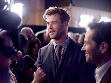 Chris Hemsworth en la premiere de 'Vengadores: Endgame'