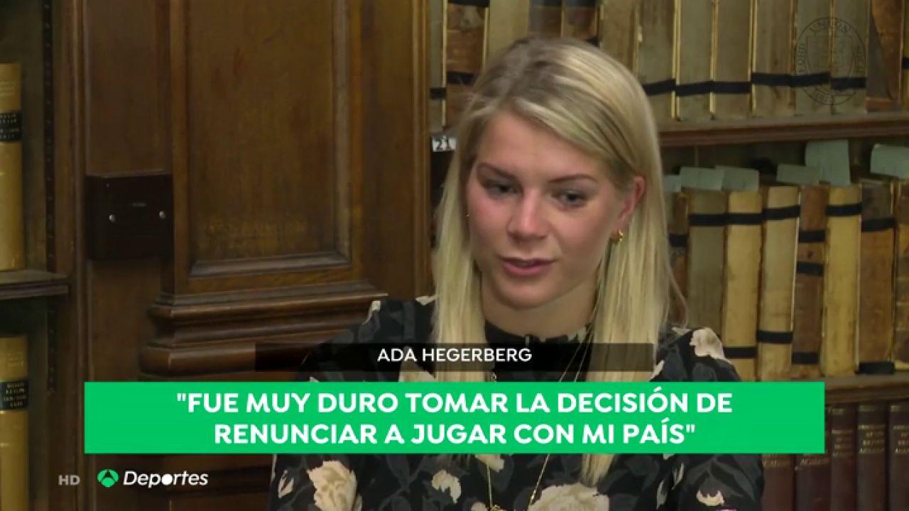 Ada Hegerberg, Ganadora Del Balón De Oro, Renuncia Al