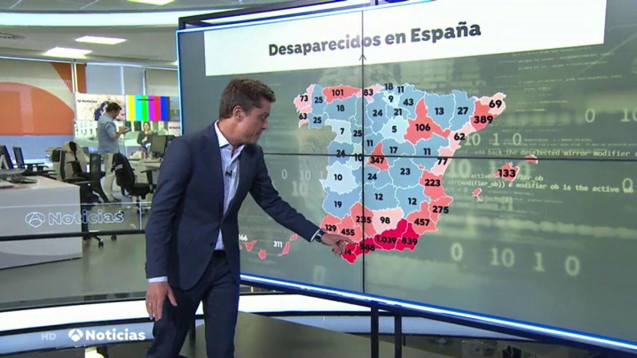 Personas Desaparecidas En España: Mapa De Casos Activos De