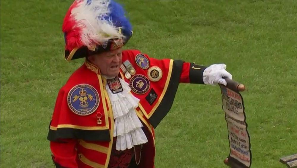 ¿Quién es el pregonero no oficial de la familia real?