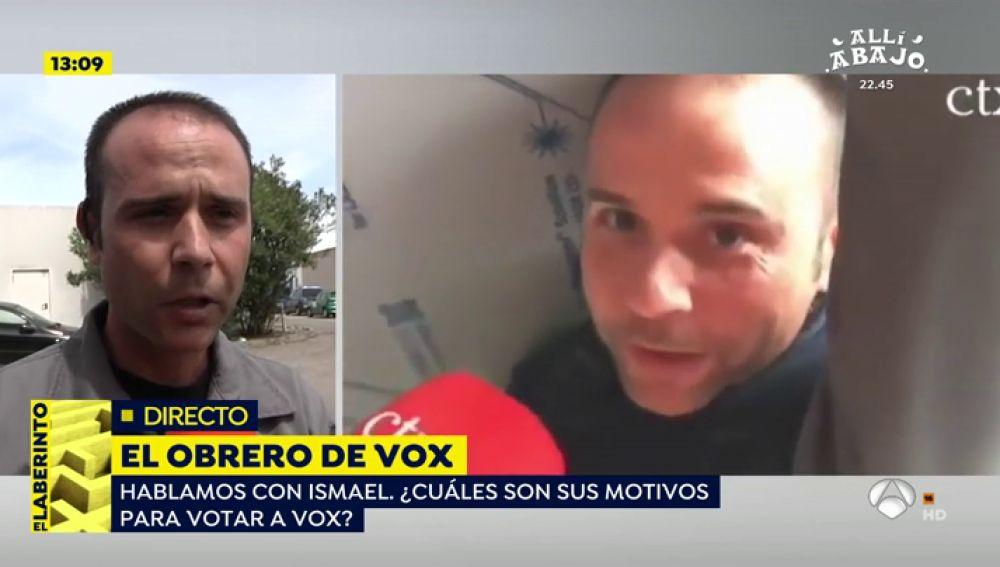 El obrero de Vox