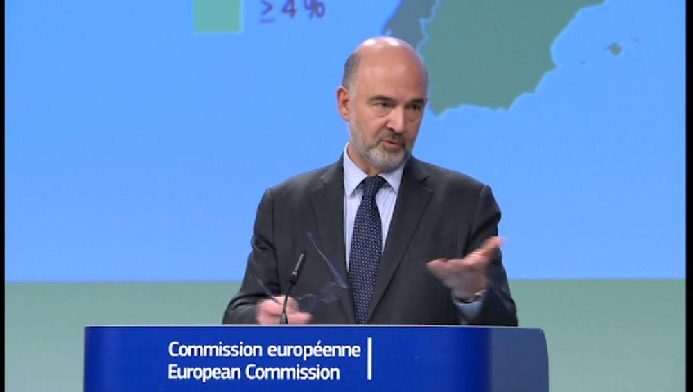 Bruselas empeora la previsión de déficit y crecimiento para España