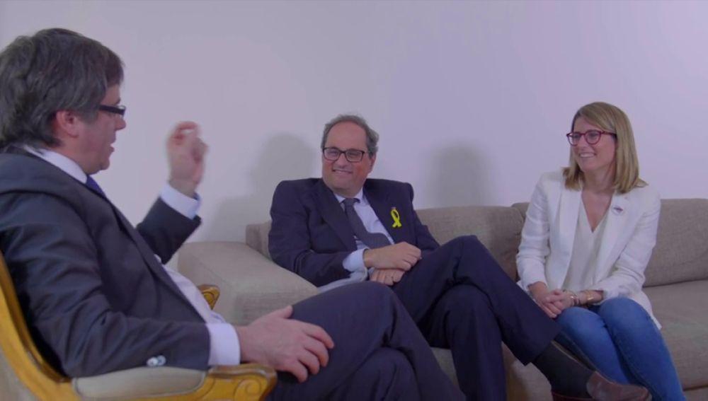 La Generalitat le pone una secretaria a Puigdemont en Bélgica