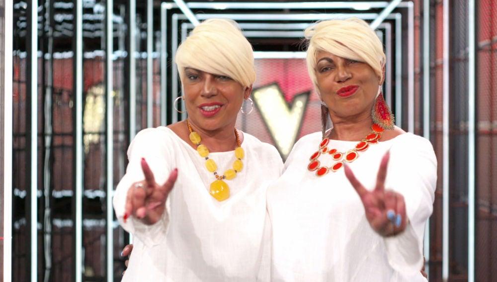 Anne y Annis Peters se despiden de 'La Voz Senior'