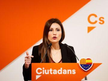 Lorena Roldán, de Ciudadanos