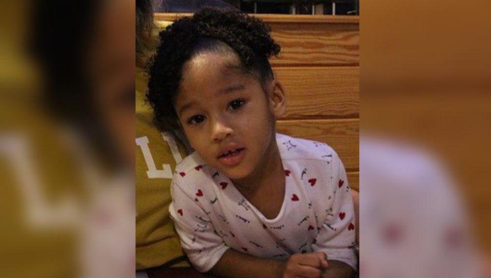 La niña desaparecida en Houston