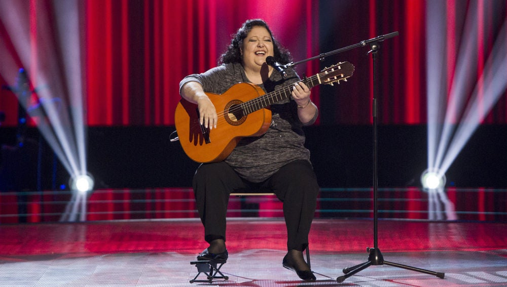 La Tata canta 'La Bohème' en las Audiciones a ciegas de 'La Voz Senior'