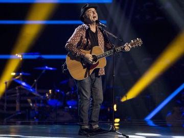 José María Guzmán canta 'Señor azul' en las Audiciones a ciegas de 'La Voz Senior'