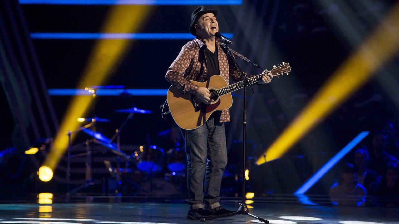 José María Guzmán Canta 'Señora Azul' En Las Audiciones A