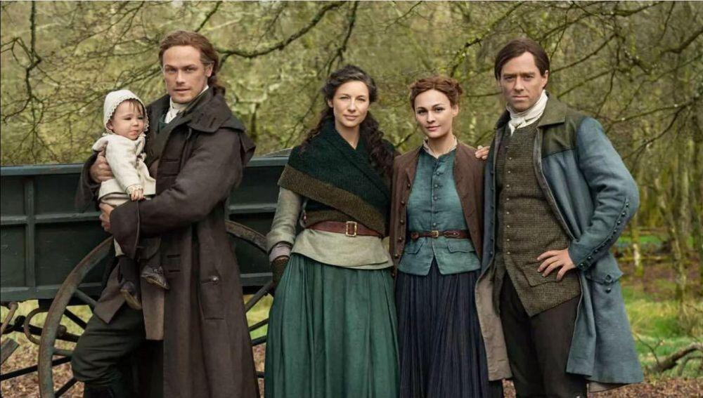 Protagonistas de 'Outlander'