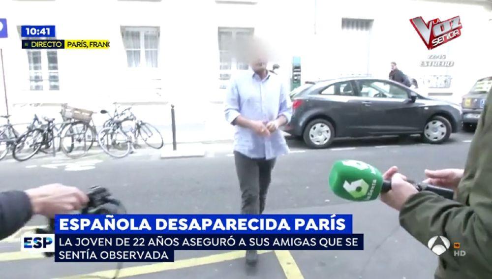Española desaparecida en París