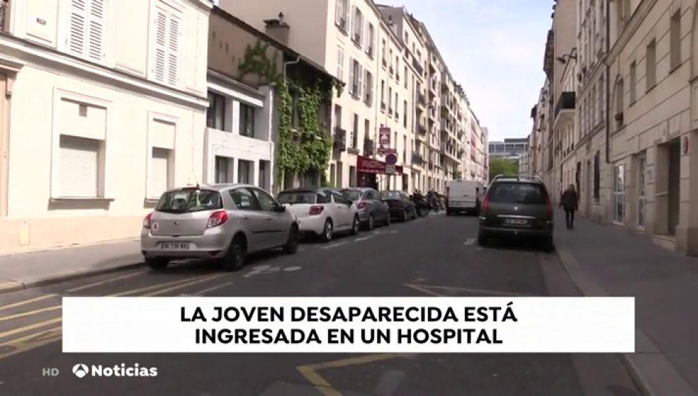 Natalia Sánchez llevaba varios días ingresada en un hospital de París