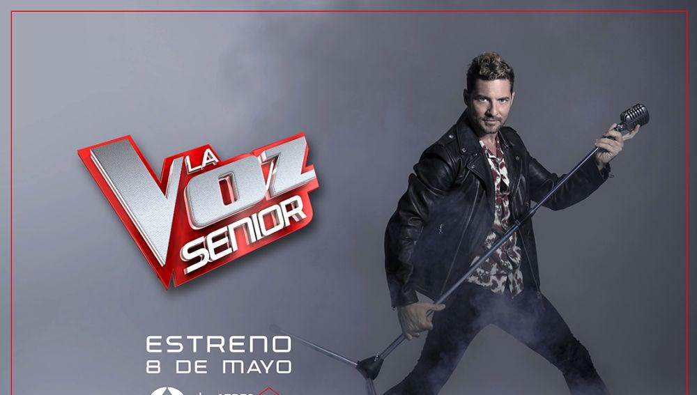 David Bisbal, coach de 'La Voz Senior'