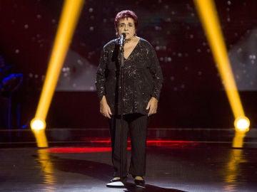 Germa del Barrio canta 'Nostalgia' en las Audiciones a ciegas
