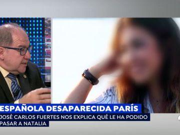 Natalia Sánchez desaparecida en París