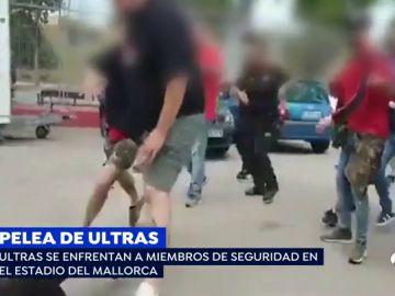 Pelea de ultras en Mallorca