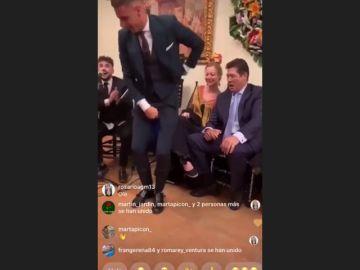 ¡Qué arte! El baile de Joaquín en la Feria de Abril que arrasa en las redes sociales