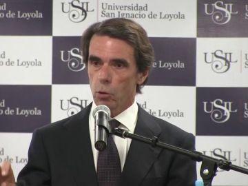 """Aznar, sobre Venezuela: """"No solo es una dictadura, es un narcoestado"""""""