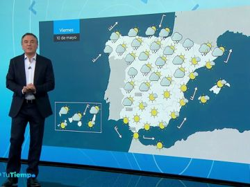 Persiste la inestabilidad en el norte pero empieza el ascenso de las temperaturas