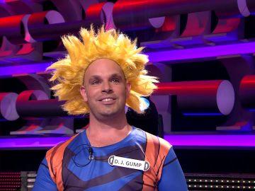 D.J.Gump, el Goku de '¡Ahora caigo!', muestra sus mágicos abdominales